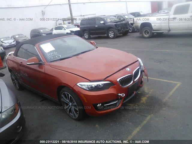 2016 BMW 228 I/SULEV